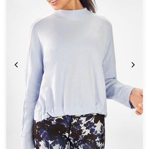 Fabletics High-Low Pullover NWT